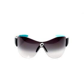 assos ZEGHO WERKSMANNSCHAFT Sonnenbrille weißer Rahmen/ schwarze Gläser